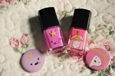 Adventure time nail polish