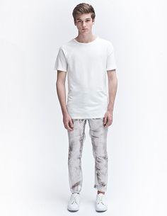 White Cotton Jersey T-Shirt AWAYTOMARS