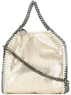 STELLA MCCARTNEY Tiny 'Falabella' Tote. #stellamccartney #bags #tote #leather…