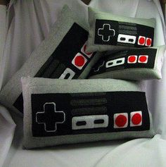 Nintendo pillows