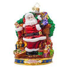 Christopher Radko Ornaments 2015 | Radko Straight to Work Ornament