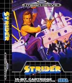 Strider for the Sega Mega Drive