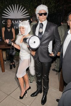 Fashion Girls Would Call Fergie and Josh Duhamel Best Dressed Couple This Halloween: On any given day, you wouldn't have to ask us twice to get decked out in Chanel.