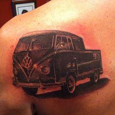 Tattoo I did a while back#tbt #VW