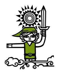 Camiseta Zelda: The wind waker
