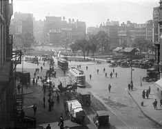 Then: Union Square (1921) | Then Vs. Now: 1920s New York City