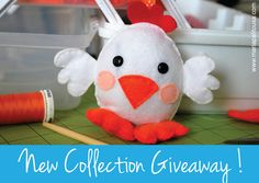 You could win this cute felt little chick by MariaPalito, just comment here: https://www.facebook.com/MariaPalitoDesign