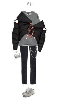 """""""Untitled #1016"""" by mywayoflife ❤ liked on Polyvore featuring AB A Brand Apart, M.i.h Jeans, NIKE, Wet Seal, Henson, Monki and Marques'Almeida"""