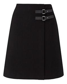 Strap Detail Mini Skirt | Oxendales