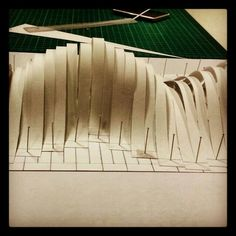 "Ilhan Koman ""Infinity - 1 series"" Conceptual Model Architecture, Architecture Model Making, Paper Architecture, Landscape Architecture Design, Concept Architecture, Arch Model, Abstract Landscape, Installation Art, Land Art"