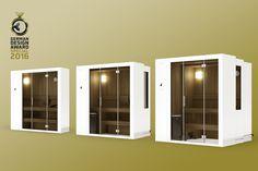 """Die raumsparende #SaunaS1 von KLAFS schreibt weiter Geschichte. Nach den großen Erfolgen der #SaunaderZukunft beim """"Plus X Award"""" hat sie auch beim German Design Award 2016, der zu den anerkanntesten Design-Wettbewerben weltweit zählt, die Jury begeistert: """"Ein unglaublich innovatives Produkt, wodurch das private #Sauna-Vergnügen auch in kleinen Wohnungen möglich wird – so einfach wie genial."""" Deshalb erhält die #SaunaS1 die begehrte Auszeichnung """"Special Mention"""". https://www.klafs-s1.de"""
