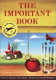 My good friend Judy gave me the idea to use this at Christmas...kids write their own version called The Important Family with a page for each member of their family...parents love it!