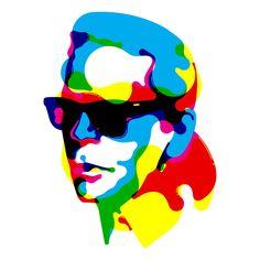 Karl Lagerfeld by Steven Wilson on Levineleavitt.com