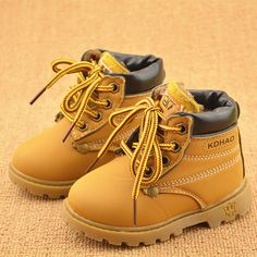 Musim semi musim dingin anak sneakers martin boots anak shoes laki-laki perempuan salju boots kasual shoes gadis anak laki-laki sepatu busana mewah