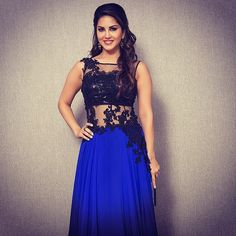 """Sunny Leone makes a princess entrance in this beautiful gown. #lakmefashionweek #instagramphotobooth"" Photo taken by @lakmefashionwk on Instagram, pinned via the InstaPin iOS App! http://www.instapinapp.com (03/21/2015)"