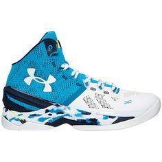 1549b75a837 Men s Under Armour Blue Curry Haight Street Basketball Shoe