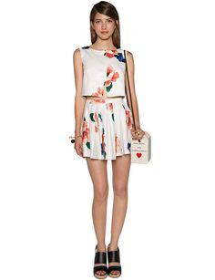 Floral Two Piece Dress