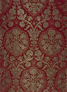 Pomegranate Brocade. In the collection of the State Hermitage Museum, St. Petersburg, Russia.