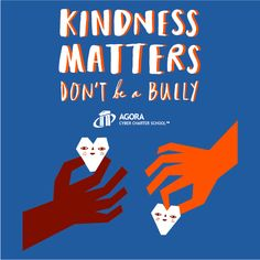 Buy a t-shirt to support Agora's Kindness Matters Campaign. Please share!
