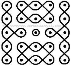 5 புள்ளி கோலம் - 5 | arusuvai Indian Rangoli Designs, Rangoli Designs Flower, Rangoli Patterns, Rangoli Ideas, Rangoli Designs With Dots, Rangoli Designs Images, Rangoli With Dots, Beautiful Rangoli Designs, Free Hand Rangoli Design
