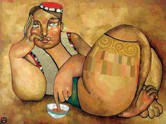 Maher Art Gallery: Abdalieva Akzhan | Kazakhstan