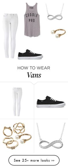 """""""Untitled #599"""" by karlieisapenguin on Polyvore featuring 2LUV, Vans, Victoria's Secret, Jewel Exclusive and Candie's"""