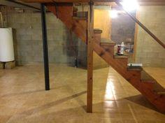 Total Basement Finishing Flooring After