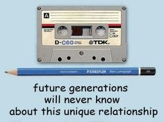 Hilarious memories!  Fix the mixed tape!