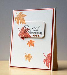 Stampin Up Thanksgiving Cards   Visit mypapersecret.blogspot.com