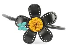 serre-tête bijou pas cher Belly Button Rings, Html, Floral, Flowers, Jewelry, Fashion, Hearts, Leather Flowers, Black Rhinestone