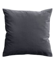 Velvet Cushion Cover | Charcoal gray | Home | H&M US