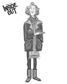 Character Designs de Inside Out, por Deanna Marsigliese | THECAB - The Concept Art Blog