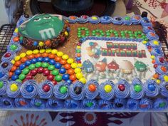 M&M Cake Chocolate lovers dream