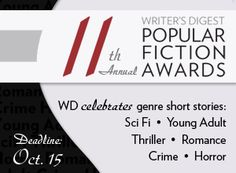 Competitions | WritersDigest.com Self Publishing, Short Stories, Thriller, Writing Competitions, Writer, Fiction, Poetry, Romance, Words