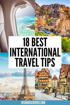 18 Important International Travel Tips: Are you going on an international trip soon? Read this guide for the best international travel tips. It has first time international travel tips too. Use this as your international travel checklist. | international travel tips | international travel checklist | international travel tips first time | best international travel tips | #InternationalTravelTips #TravelTips #FirstTimeAbroad #InternationalTravel #InternationalTravelChecklist Travel Route, Top Travel Destinations, Packing Tips For Travel, Travel Hacks, Travel Advice, Budget Travel, Travel Guides, International Travel Checklist, Las Vegas Hotel Deals