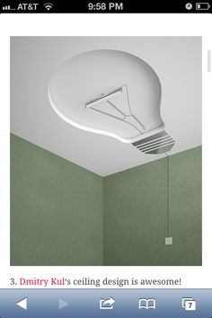 Light Bulb Ceiling