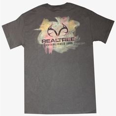 #New Realtree Outfitters Smudged Tee $14.99  #RealtreeOutfitters