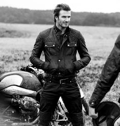 david beckham motorcycle boots | David Beckham - The Legend Continues