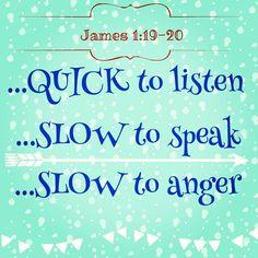 Keep It Shut by Karen Ehman, Bible Verses James 1:19-20