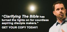 """We have used the Clarifying the Bible DVD series on several occasions. Our folks rave about this series and come away with a much better appreciation for and understanding of how the Bible came to us and how it is structured. This is a learning resource that will greatly benefit every Christian!"