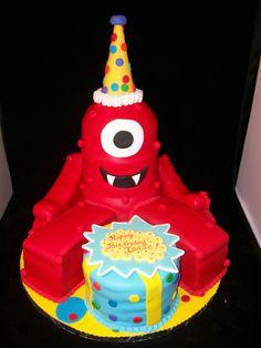 Muno Cake from Yo Gabba Gabba
