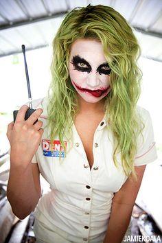 Joker (The Dark Knight) by Jamie Koala Art & Design Joker Halloween Costume, Harley Quinn Halloween, Halloween Inspo, Halloween Costumes For Girls, Halloween Makeup, Chucky Makeup, Joker Makeup, Scary Makeup, Superhero Cosplay
