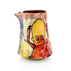 """Alien Pourer"" by En Iwamura. Available at ClayAkar. Alien, Japanese, Ceramics, Clay, Ceramic Artists, Art"