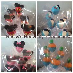 Disney Theme Cake Pops