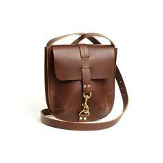 Burton Leather Bag Praline - The Future Kept - 1