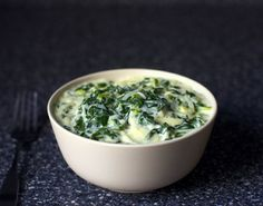 Creamed Chard and Spring Onions