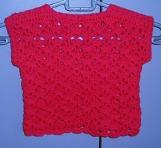 """24"""" crocheted lacy summer top ref 461 £8.00"""
