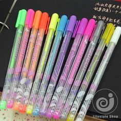 Find More Gel Pens Information about 12 pcs/lot DIY album photo Queen gel pen kawaii color pens decal stationery school supplies canetas material escolar,High Quality pen auto,China pen on computer screen Suppliers, Cheap pen pink from Lifestyle Shop on Aliexpress.com