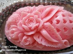soap carving designs from Selena de Artiste