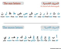 "The Arabic letters are divided into two groups:    The sun letters الحروف الشمسية al-horoof ash-shamseyyah.  The moon letters الحروف القمرية al-horoof al-qamareyyah.  In front of a sun letter, we do not pronounce the letter ""ل"" of the prefix ""ال"". It is assimilated with the sound of the sun letter. Example: The peace السلام as-salam.    But we do pronounce the letter""ل"" when the prefix ""ال"" is added to a moon letter. Example: The book الكتاب al-ketab."